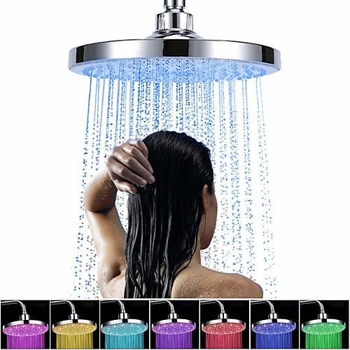 современная хромированная душевая лейка - ливень / светодиод / душ, душ
