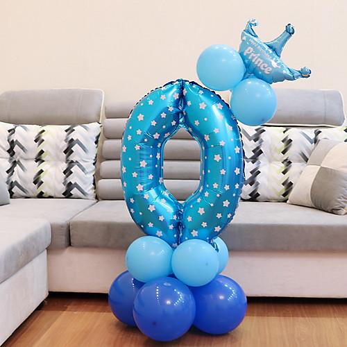 Праздничные украшения День Святого Валентина Декоративные объекты Для вечеринок Синий 2pcs