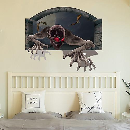 lightinthebox / Vinilos decorativos de halloween - palabras& amp;  cotizaciones pegatinas de pared personajes sala de estudio / oficina /  comedor / ...