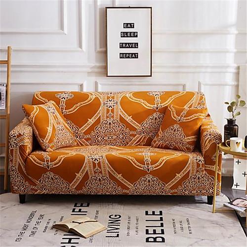 2019 новый стильный простота печати диван чехол стрейч диван суперобложка супер мягкая ткань ретро горячая распродажа чехол