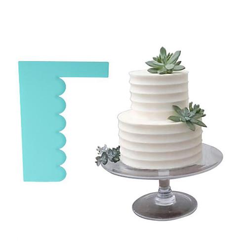 1шт пластик Новый дизайн День рождения Торты Для торта Прямоугольный Выпечка и кондитерские шпатели Инструменты для выпечки фото