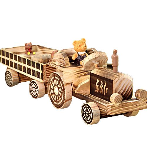 Игрушечные машинки деревянный Детские Все Игрушки Подарок
