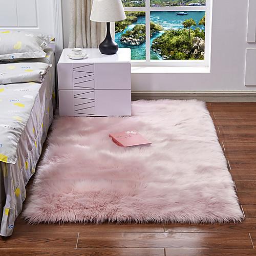 Dongguan pho_07mg (супер объемный продукт) имитация овчины диван ковер на полу подушка подушки эркер подушка гостиная спальня длинное одеяло 30x30cm_ white фото