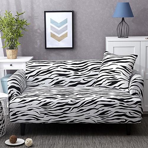 Чехлы на диваны высокие эластичные леопардовые комбинаторные мягкие эластичные чехлы из полиэстера фото
