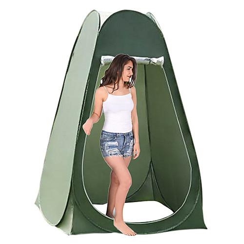 1 человек Душевые палатки Всплывающая палатка Конфиденциальность Палатка На открытом воздухе Компактность Дышащий Простота установки Однослойный Самораскрывающаяся палатка Сферическая Палатка фото