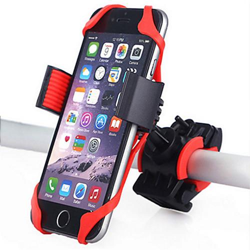 Крепление для телефона на велосипед Регулируется Полет с возможностью вращения на 360 градусов GPS для Шоссейный велосипед Горный велосипед Мотобайк Силиконовые ABS iPhone X iPhone XS iPhone XR фото