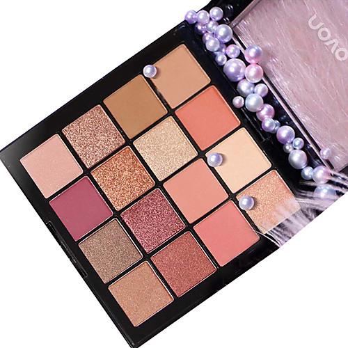 16 цветов Тени Тени для век Pro / Прост в применении Офис Повседневный макияж косметический