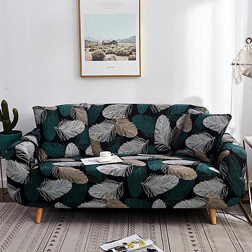 Чехлы на диваны высокие эластичные листы с принтом комбинаторные мягкие эластичные чехлы из полиэстера фото