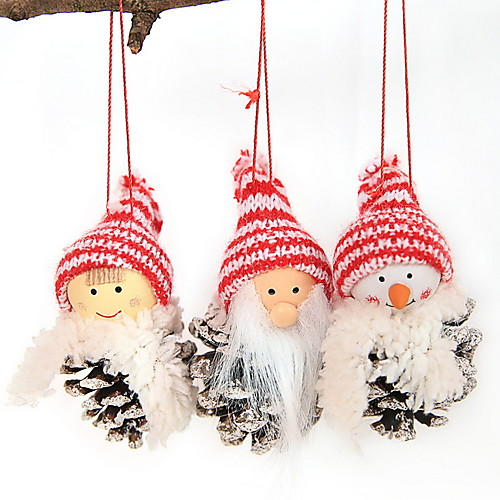 Рождественские украшения Новогодняя тематика Хлопковая ткань Мини Мультипликация Рождественские украшения фото