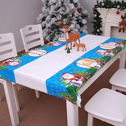 Рождественские украшения Новогодняя тематика PVC Прямоугольный Оригинальные Рождественские украшения фото