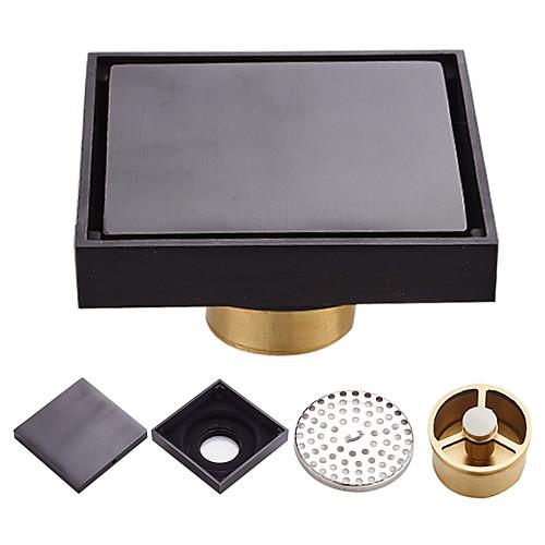 Ванная комната душ пол сливной слив умывальник сливной фильтр латунный квадрат простой слив в пол туалет фото