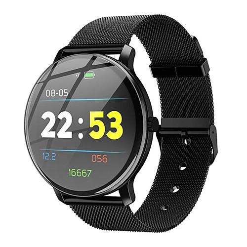 Смарт Часы Цифровой Современный Спортивные 30 m Защита от влаги Пульсомер Bluetooth Цифровой На каждый день На открытом воздухе - Черный Золотистый Серебряный фото