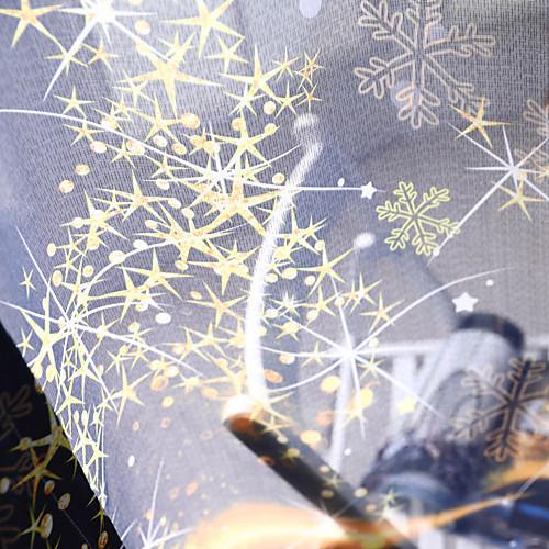 Modern Прозрачный 2 шторы Прозрачный Спальня Curtains / Жаккардовое переплетение фото
