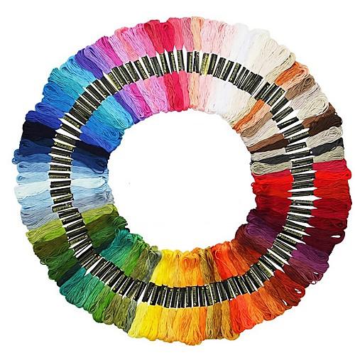 100 цветных нитей для вышивки крестом уникальный стиль DMC якорь вышивка крестом хлопок вышивка вышивка крестом вышивка швейная нить фото