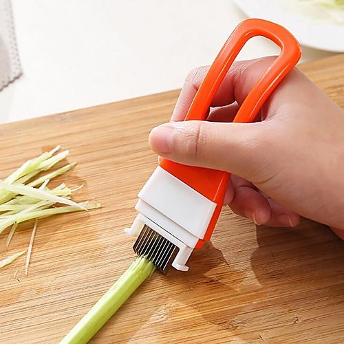 Острый зеленый лук нож овощерезка волшебный измельченный нарезанный кулинария инструменты кухонные гаджеты фото