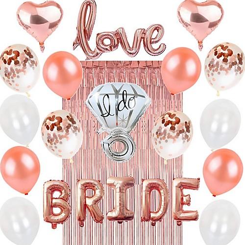Украшения на день рождения, розовое золото украшения на день рождения праздничные атрибуты праздничные воздушные шары конфетти с днем рождения воздушные шары баннер для женщин мама фото