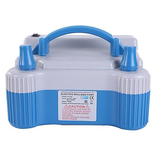 Электрический баллонный насос, переносное двойное сопло 220-240 В 700 Вт электрический баллонный насос, нагнетатель воздуха, удлинитель шланга и инструмент для связывания баллонов, зажимы для цветов, фото