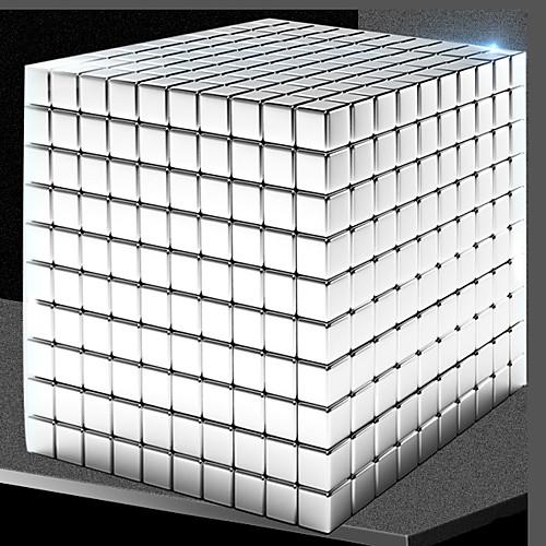1000 pcs 5mm Магнитные игрушки Магнитные шарики Магнитные игрушки Конструкторы Сильные магниты из редкоземельных металлов Неодимовый магнит Магнитный Квадратные фото