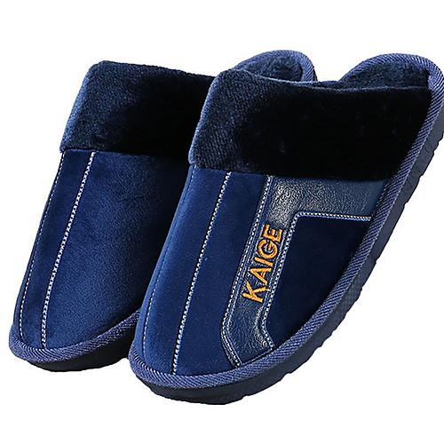 Мужские тапочки Домашние тапки На каждый день Махровая ткань Обувь фото