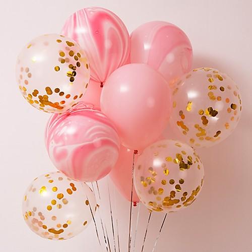 Воздушные шары конфетти воздушные шары разноцветные воздушные шары для джунглей детский душ свадебный офис день рождения праздничные атрибуты фото