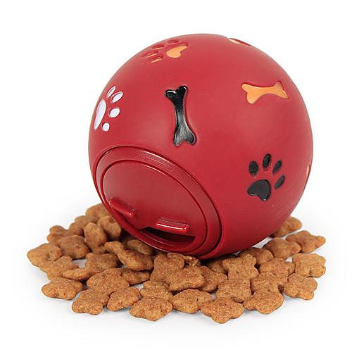 Шарообразные Жевательные игрушки Интерактивная игрушка Собаки Коты Животные Игрушки 1шт Подходит для домашних животных Продукты питания Эластичный Ластик Подарок фото