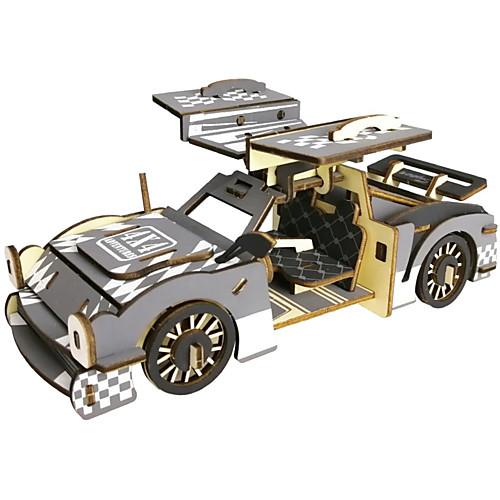 PIECECOOL 3D пазлы Пазлы Деревянные пазлы Металлические пазлы Деревянные игрушки 1 pcs Автомобиль Творчество Cool Оригинальные Своими руками / Детские фото