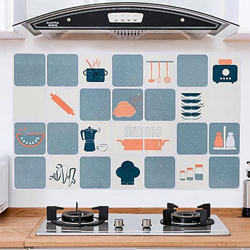 Маслостойкие наклейки для кухонных плит маслостойкие наклейки для кухни алюминиевая фольга маслостойкие наклейки для печей термостойкие наклейки на плитку фото