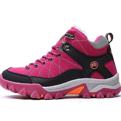 Муж. Комфортная обувь Сетка Наступила зима Спортивная обувь Черный / Лиловый / Пурпурный фото