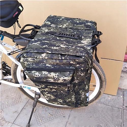 Сумка на багажник велосипеда / Сумка на бока багажника велосипеда Сумки на багажник велосипеда Велоспорт Пригодно для носки Прочный Велосумка/бардачок Полиэстер Велосумка/бардачок Велосумка фото