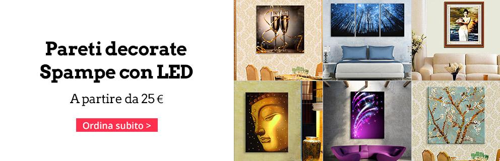 Decorazioni da parete quadri dipinti e adesivi a prezzi for Quadri giganti da parete
