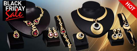 סטים של תכשיטים אופנתיים Yixi