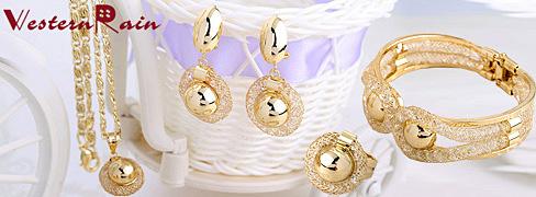 Pozlaćen nakit 18K WesternRain