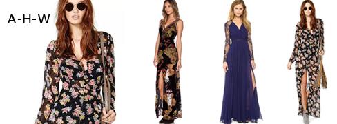 여성 패셔너블 드레스 A.H.W