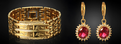 18K Gold Plated Jewelry Betty