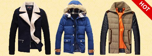 Warm Men's Coats Ounuode