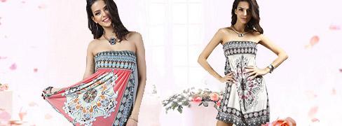 Νέα Μοντέρνα Φορέματα Mini Dresses