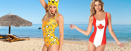Free Shipping Vemay 3D One-piece Swimwear, Up To 80% OFF