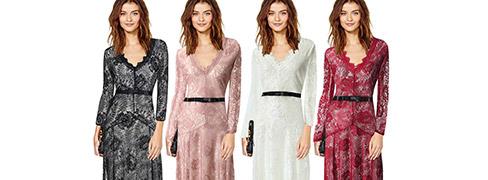 멋진 패셔너블 드레스 Jfs