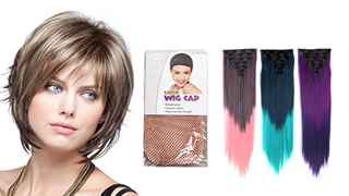Hair Extensions & Wigs for Wholesale