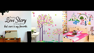 Weekly Time for Wall Stickers