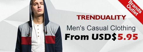 בגדי גברים Trenduality®