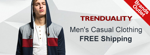 Trenduality® Men's Clothing