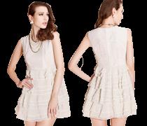Tištěné šaty I