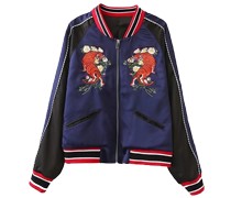 Women's Fashion Bomber Jacket