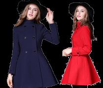 Dámské teplé kabáty I