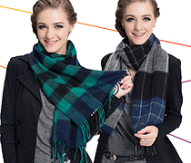 Women's Wool Scarf Alyzee®
