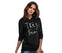Fashion Cool Black Sweaters & Hoodies
