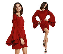 Úchvatné módní šaty I