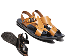Aokang® Men's Leather Sandals