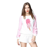 Fashion New Ins Colorful Hoodies